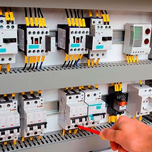 Painel de Distribuição de Energia