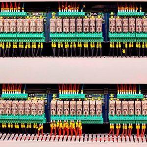 Painel Elétrico de Disjuntores